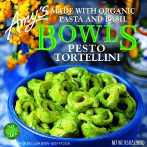 Amy's Organic Pesto Bowl