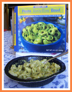 Trader Joe's Pesto Tortellini Bowl